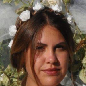 Couronne mariage bohème, champêtre, fleurs blanches. Réf. 135
