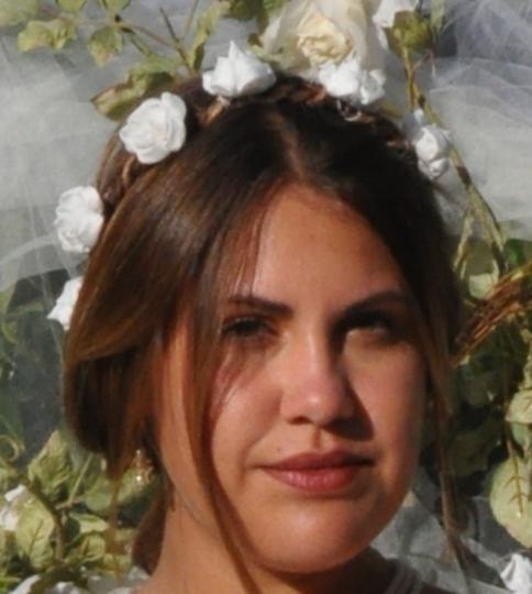 Couronne de fleurs mariage bohème champêtre