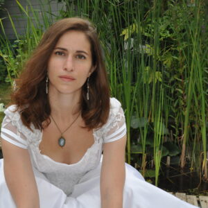 Chaîne avec pendentif camée romantique, Réf. 251